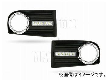 エムイーコーポレーション MAX Super Vision MAX-LEDデイタイムランニングライト付 フロントエアインテイク Type-2 品番:232718 フォルクスワーゲン ゴルフ5