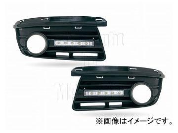 エムイーコーポレーション MAX Super Vision MAX-LEDデイタイムランニングライト付 フロントエアインテイク Type-2 品番:232720 フォルクスワーゲン ジェッタ5