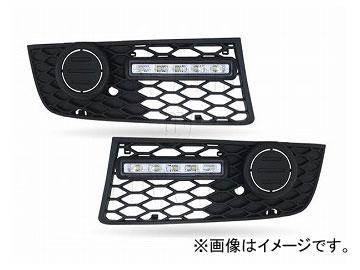 エムイーコーポレーション MAX Super Vision MAX-LEDデイタイムランニングライト付 フロントエアインテイク Type-2 品番:232726 アウディ A4 8E/B6 S-Line