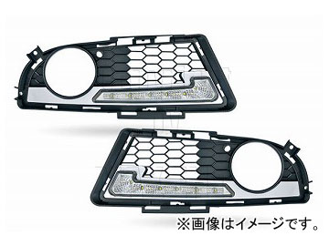 エムイーコーポレーション ZONE LEDデイライト フロントバンパーエアインテイク+デイライト&ポジションライト機能付 タイプ-3 品番:232784 E91 3シリーズ