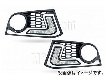 エムイーコーポレーション ZONE LEDデイライト フロントバンパーエアインテイク+デイライト&ポジションライト機能付 タイプ-3 品番:232786 F10 5シリーズ