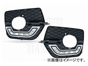 エムイーコーポレーション ZONE LEDデイライト フロントバンパーエアインテイク+デイライト&ポジションライト機能付 タイプ-3 品番:232787 BMW E71 X6