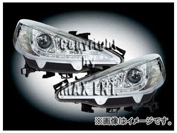 エムイーコーポレーション ZONE キセノンヘッドライト/LEDポジションライト付 タイプ-2 品番:291328 プジョー 207