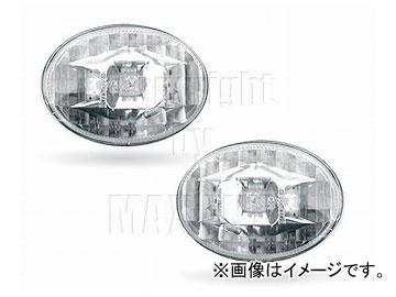ミニ 3-LED 品番:220114 2007年〜 クリアー/ R55/ ZONE クロム サイドマーカー R57 エムイーコーポレーション