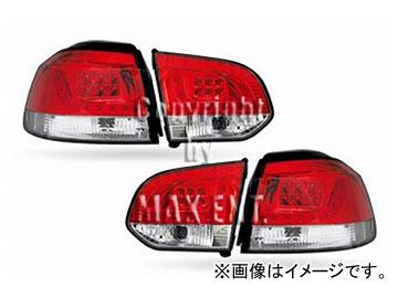 エムイーコーポレーション ZONE LEDテールレンズ Type-4 品番:211664 フォルクスワーゲン ゴルフ6 ハッチバック 2009年~
