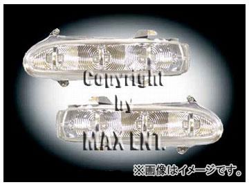 エムイーコーポレーション ZONE ドアミラーウィンカー 6-LED '03 ルック 品番:220081 メルセデス・ベンツ W220/W215 ~2002年