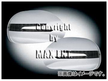 エムイーコーポレーション ZONE ドアミラーカバー LEDウインカー&ウェルカムライト付 クロム 品番:221073 メルセデス・ベンツ W164 Mクラス ~2010年