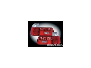 エムイーコーポレーション ZONE LEDテールレンズ クリスタルクリアー/レッド タイプ-2 品番:210593 BMW E39 5シリーズ ワゴン ~2000年
