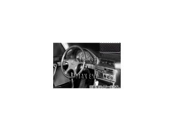 エムイーコーポレーション Herbert Richter インテリアパネル カーボンルック 品番:620303 BMW E34 LHD