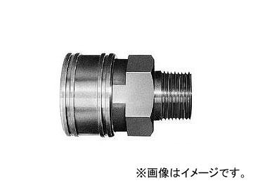 日東工器 TSPカプラ ソケット TSM型(めねじ取付用) 16TSM SUS/EPT
