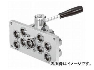 2019人気の マルチカプラ 日東工器 MAM-A-4S8:オートパーツエージェンシー ソケット(8ポート/プレート:大)-DIY・工具