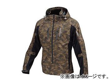 2輪 コミネ JK-112 プロテクトハーフメッシュパーカ-ゲンリ カモ/ブラック 選べる8サイズ 07-112