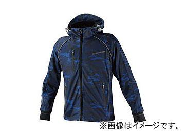 2輪 コミネ JK-113 スムースメッシュジャージパーカ-ザネ ブルーカモ 選べる8サイズ 07-113