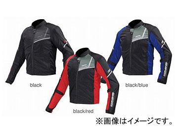 2輪 コミネ JK-117 プロテクトフルメッシュジャケット-ジモン ブラック/レッド 選べる9サイズ 07-117
