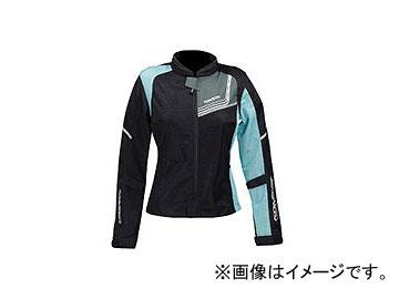 2輪 コミネ JK-117 プロテクトフルメッシュジャケット-ジモン ブラック/ライトブルー 選べる3サイズ 07-117