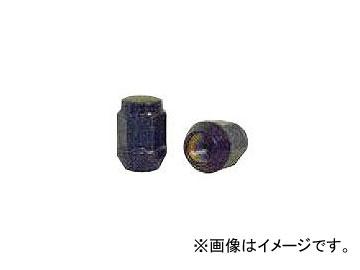チップトップ 袋ナット ツバ付 ブラック 17H M12×1.5 31mm N-23 入数:1セット(100個)