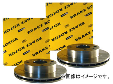 パロート/PARAUT ブレーキローター フロント G6-006B×2 イスズ/いすゞ/ISUZU エルフ