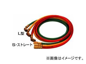 デンゲン/dengen クーラ・マックスシリーズ チャージングホース 2.2m 3本セット (赤・黄・緑 各1本) CP-H2200-S
