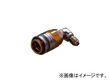 デンゲン/dengen クーラ・マックスシリーズ 高圧用 ワンタッチカプラ 口金90° CP-HKF3-90°