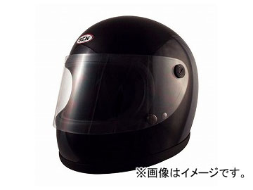 2輪 TNK工業 ヴィンテージフルフェイスヘルメット BEN60 B-60 ブラック FREE(58-59cm未満) 511790