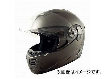2輪 TNK工業 ファントム TOP PT-2 システムヘルメット ハーフマットガンメタ 選べる2サイズ