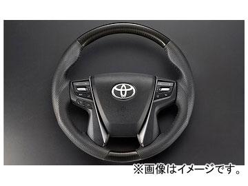 シルクブレイズ パドルシフト対応ステアリング カーボン SB-ST-209 トヨタ アルファード/ヴェルファイア GGH/AGH/AYH3# 2015年01月~