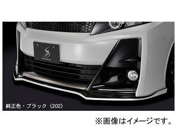 シルクブレイズ フロントリップスポイラー タイプS 純正・ブラックツートン トヨタ ヴォクシー ZRR80W G's 2016年04月~ 選べる5塗装色