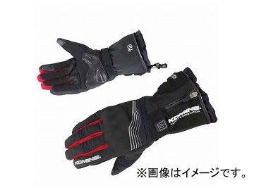 2輪 コミネ EK-201 プロテクトエレクトリックグローブ12V Black/Red 選べる7サイズ 08-201
