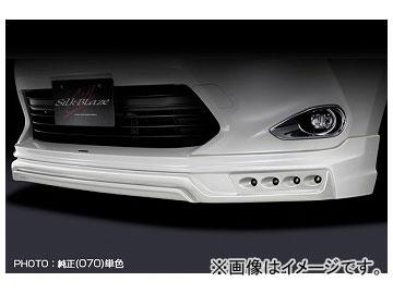 シルクブレイズ フロントスポイラー 純正色単色 LED無 トヨタ ハリアー ZSU/AVU6#W 2013年12月~2017年05月 選べる7塗装色