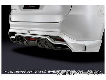 シルクブレイズ リアスポイラー 純正色単色 バックフォグ無 トヨタ ハリアー ZSU/AVU6#W 2013年12月~2017年05月 選べる7塗装色