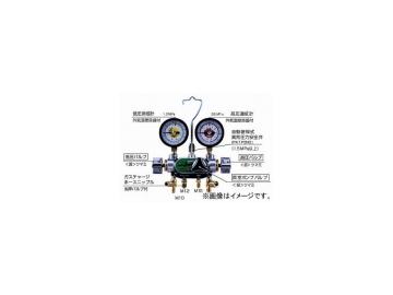 デンゲン/dengen クーラ・マックスシリーズ システム アナライザー 3バルブ方式 マニホールドゲージ CP-MG313N