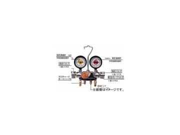 デンゲン/dengen クーラ・マックスシリーズ 3バルブ方式 マニホールドゲージ CP-MG300N