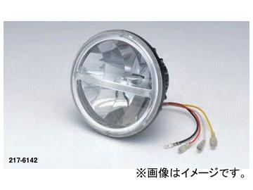 2輪 キジマ ヘッドライトユニット 5-3/4インチ LED 217-6142