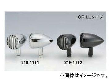 2輪 キジマ ウインカーランプ ブラック GRILL LED 12V1.8W 219-1112 入数:1セット(2個)