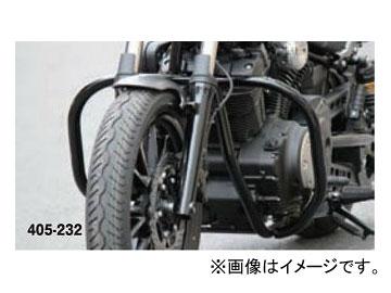 2輪 キジマ バンパー ブラック 405-232 フロント ヤマハ ボルト