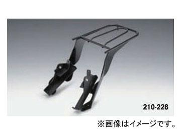 2輪 キジマ リアキャリア ブラック 210-228 スズキ GSX-S1000/F 2015年~