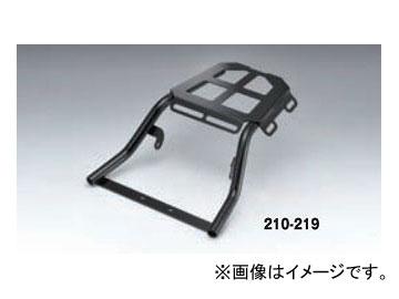 2輪 キジマ リアキャリア ブラック 210-219 カワサキ KSR110/KSR PRO 2013年~