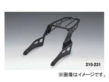 2輪 キジマ リアキャリア ブラック 210-231 カワサキ バルカンS