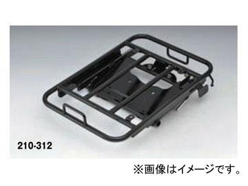 2輪 キジマ リアキャリア スライド ブラック 210-312 ヤマハ TRICITY