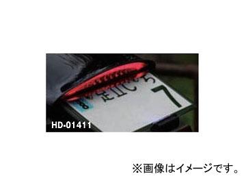 2輪 キジマ テールランプキット LEDスリム レッド HD-01411 ハーレーダビッドソン FXSB