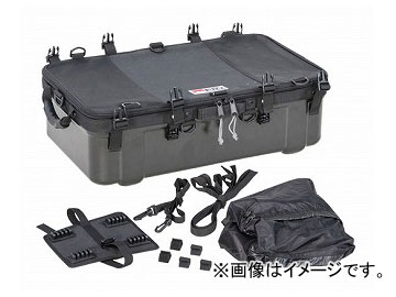 2輪 タナックス キャンピングシェルベース ブラック (H)190×(W)600×(D)350mm MFK-242