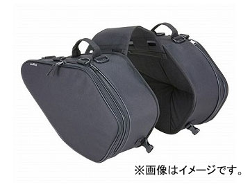 2輪 タナックス サイドバッグGT ブラック (H)300×(W)490×(D)160mm(最小時) MFK-135