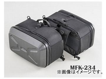 2輪 タナックス ミニシェルケース ツーリング/カーボン柄 (H)220×(W)340×(D)200mm(片側) MFK-234