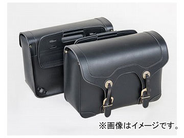 2輪 タナックス アメリカンサイドバッグ5 ブラック (H)320×(W)430×(D)180mm(片側) MFA-18