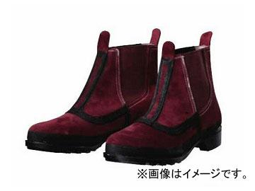 ドンケル 耐熱・溶接靴 ブラウン サイドゴム 選べる10サイズ T-4