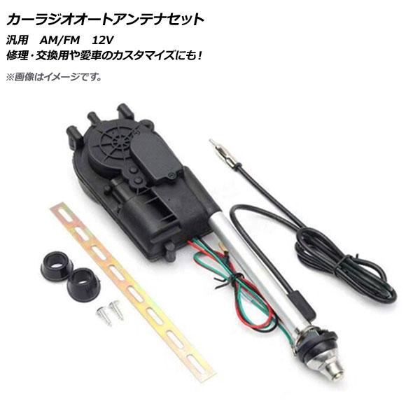 AP カーラジオオートアンテナセット 汎用 12V FM/AM AP-EC312