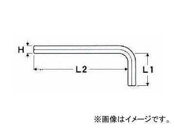 エイト EIGHT お得 六角棒スパナ 単品 標準寸法 チープ ブリスターパック R-12 ミリ