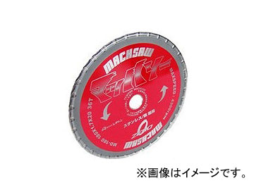レヂトン/RESITON レヂトンマッハソー180 MD-180 ステンレス・鉄兼用 サイズ:180×1.7×20 刃数:36 入数:1セット(4枚入)