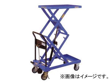 をくだ屋技研/O.P.K 手動式リフトテーブルキャデ 高揚程タイプ LT-WH200-13