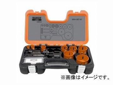 バーコ/BAHCO バイメタルホルソーセット 3834-SET-87